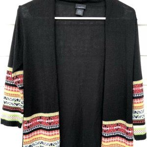 RUE 21 OPEN FRONT CARDIGAN SWEATER SIZE SMALL-EUC